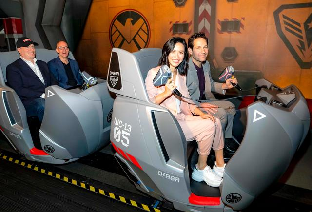 "Hong Kong Disneyland Launches Latest Marvel Ride: ""Ant-Man and The Wasp – Nano Battle!"""