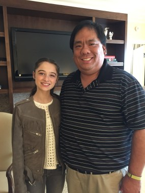 Going to the Tomorrowland press conference and meeting Raffey Cassidy