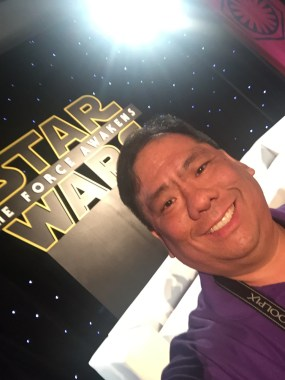 Wow! Going to the Star Wars: The Force Awakens press event was such a highlight!
