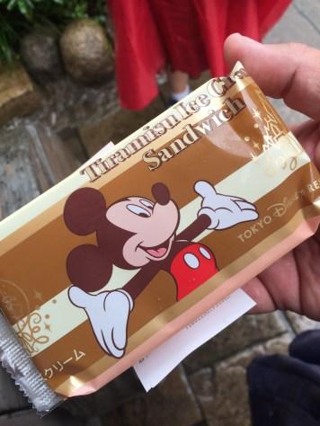Tiramisu Ice Cream Sandwich - my new yummy treat.