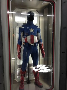 Cap's uniform that he wears as he protects our country