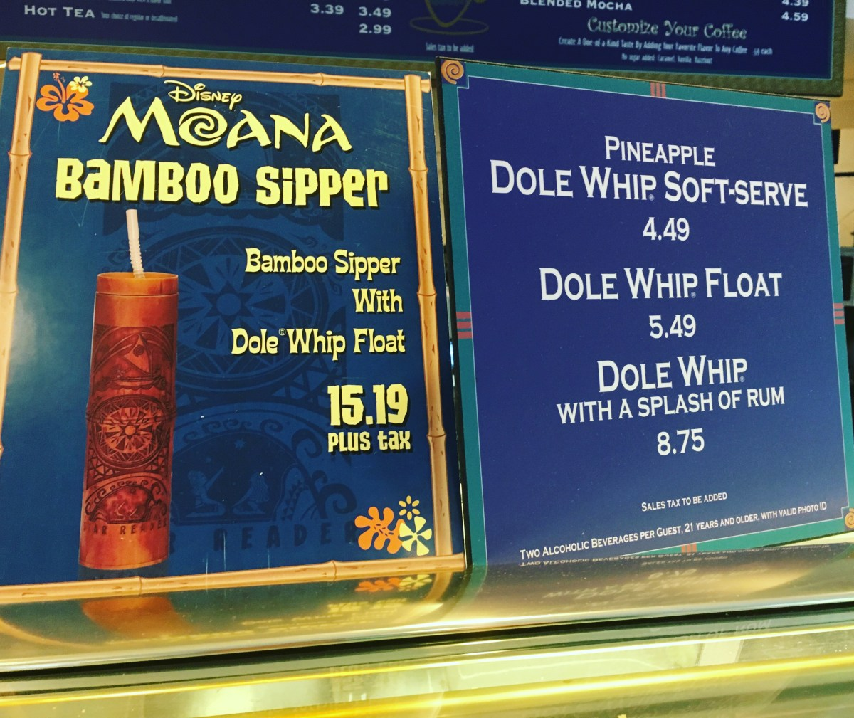 Dole Whip With A Punch  A Rum Punch Disney Foodie