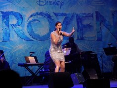 Ashley Brown singing Let It Go as she announced Disney Theatricals next production - SHOWS