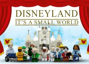 Disney LEGO Its a Small World Set
