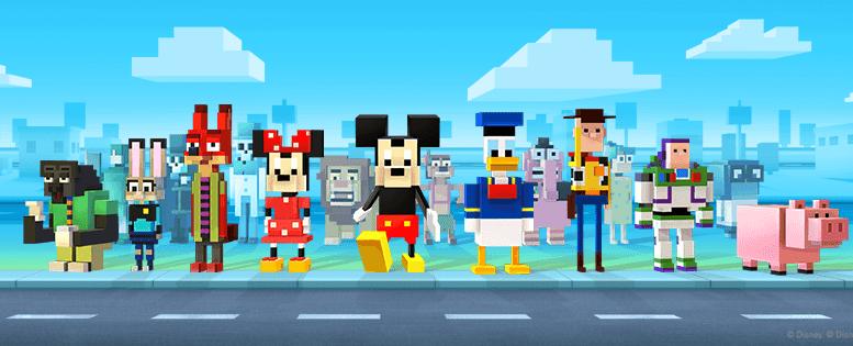Disney Crossy Road Game