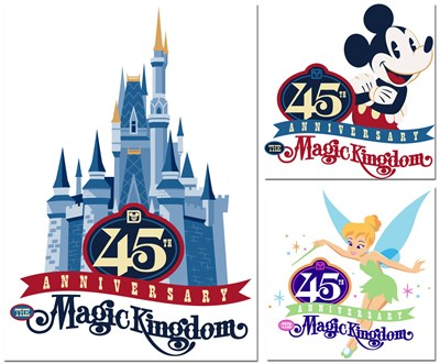 Disney Magic Kingdom 45th anniversary