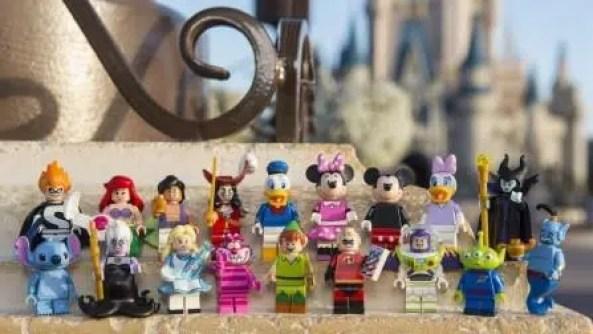 new LEGO Disney Minifigures 2016