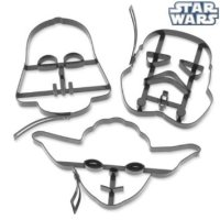 Star Wars Pancake Molds - Yoda Darth Vader Stormtrooper