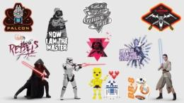 Star Wars app stickers