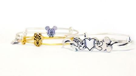 mickey mouse minnie mouse alex ani disney bangles