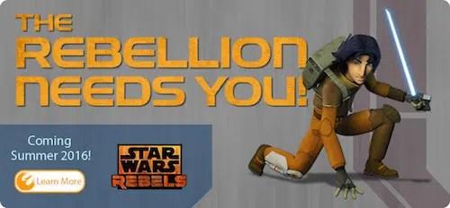 Disney World Star Wars Rebels Interactive Adventure