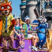 Zootopia Characters Join the Disney Move It! Shake It! Parade