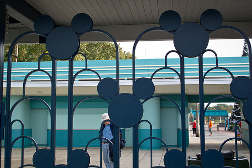 disney world ticket counter photo