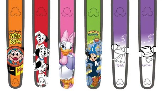 Disney World Magic band artwork