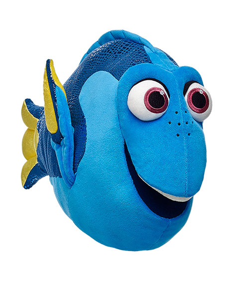 New dory and nemo finding dory build a bear collection for Finding a builder