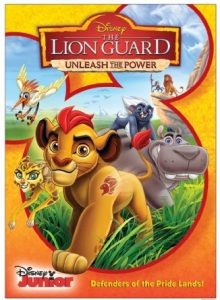 The Lion Guard Unleash The Power DVD