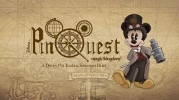 Disney World Magic Kingdom Pinquest scavenger hunt game