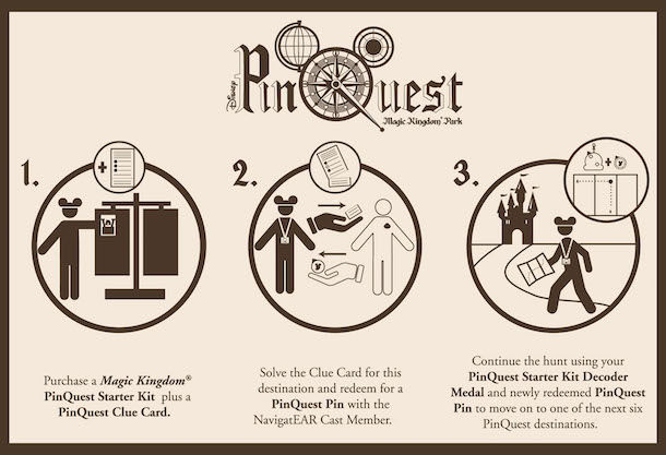 Disney World Magic Kingdom Pinquest