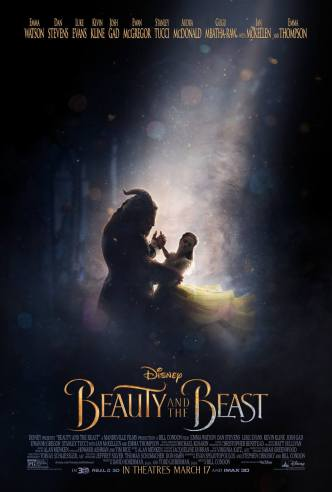 Beauty and the Beast live action 2017 poster