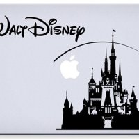 Disney Castle Macbook Laptop Decal