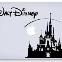 Disney Castle Macbook Laptop Decal