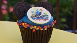 Disney Magic Kingdom 45th Anniversary Cupcake