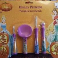 Disney Princess Pumpkin Carving Kit Garnish Tool Set with Patterns
