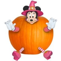 Gemmy Pumpkin Push In Minnie Mouse