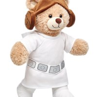 Princess Leia Happy Hugs Build-a-Bear