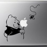 Winnie The Pooh Macbook Laptop Skin