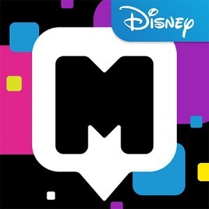 disney mix messaging app