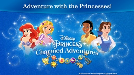 disney princess charmed adventures mobile app