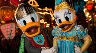 disney world halloween character meet and greets