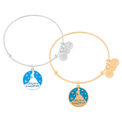 Cinderella Bangle by Alex and Ani (blue)