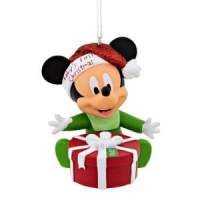 Mickey Mouse Baby's First Christmas Ornament 2016