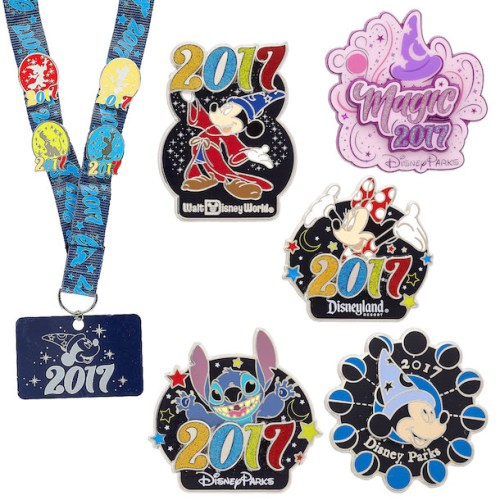 2017 disney pin collection