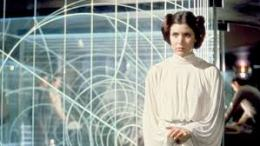 Carrie Fisher dead Princess Leia disney princess