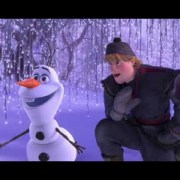 Kristoff Joins Olaf Meet and Greet at Disneyland