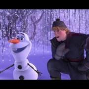 Kristoff Joins Olaf Meet and Greet at Disneyland