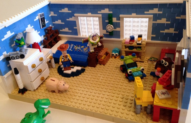 A lego toy story set of andy 39 s room you can make it happen - Lego toys story ...
