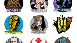 imessage star wars sticker