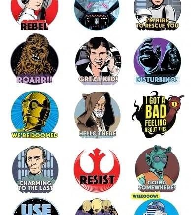 imessage star wars sticker