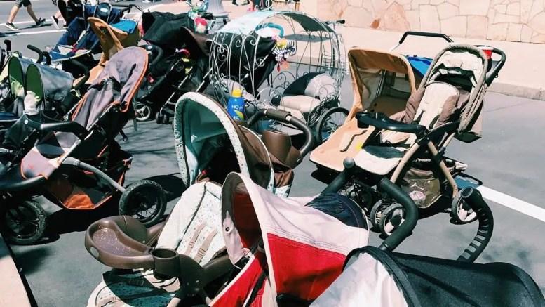 disney world cinderella's carriage stroller