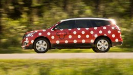 disney world minnie mouse van service