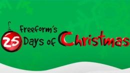 Freeform Countdown to 25 Days of Christmas