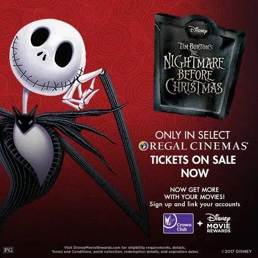 nightmare before christmas regal cinemas