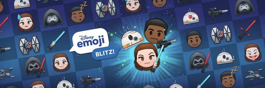 Star Wars Disney Emoji Blitz game