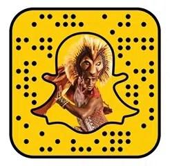 The Lion King Snapchat Lens