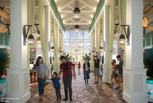 Disney World's Caribbean Beach Resort refurb