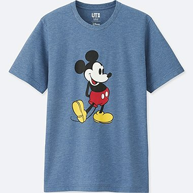 Mickey Stands Short-Sleeve Graphic T-Shirt
